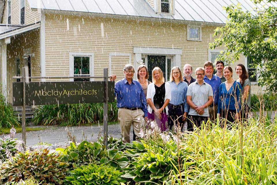 Team of Vermont Architects and Architectural Designers at Maclay Architects in Warren, VT